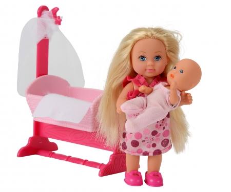simba Evi LOVE Doll Cradle, 2-ass.