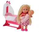 simba Evi LOVE Doll Cradle, 2-ass.
