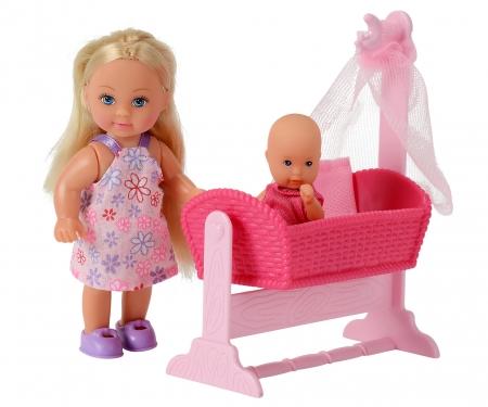 simba Evi LOVE Doll Cradle, 2-sort.