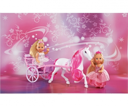 simba Evi LOVE Romantic Carriage