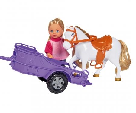 simba Evi LOVE Evi Horse Trailer