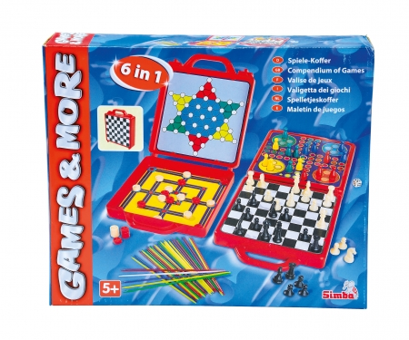 simba Games & More Gamecase 6 in 1