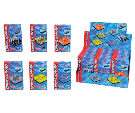 simba Games & More Magnetspiele, 6-sort.