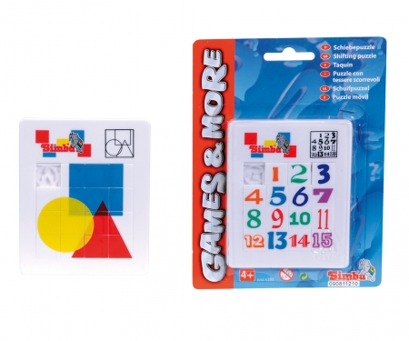 simba Games & More Move-and-Match Puzzle, 2-ass.