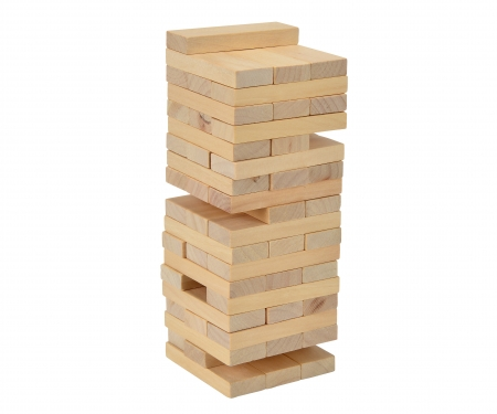simba Games & More Wooden Tumbling Tower
