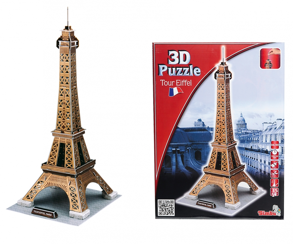 puzzle tour eiffel. Black Bedroom Furniture Sets. Home Design Ideas