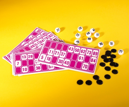 simba Games & More Bingo Lottery Game
