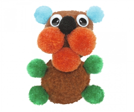 simba Art&Fun Create your Pom Pom Figure