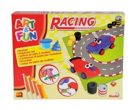 simba Art&Fun Dough Set Racing
