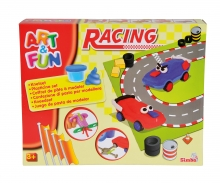 simba Art&Fun Dough Set Racing