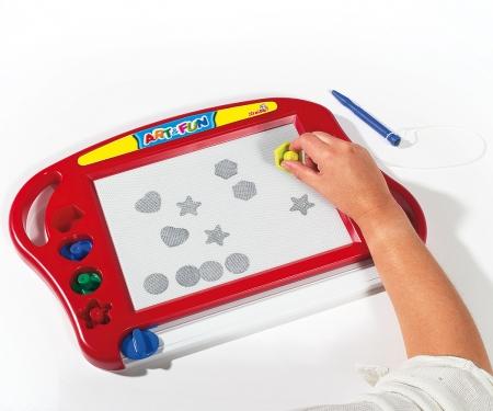simba Art&Fun Magic Drawing Board red