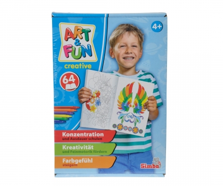 simba A&F Color me Paint Set Boy