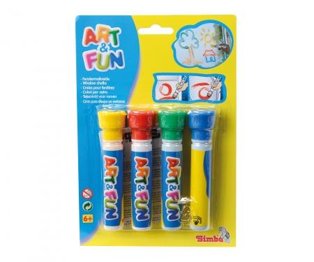 simba Art&Fun Window Chalks