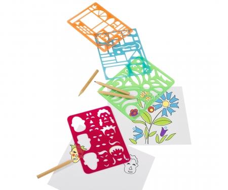 simba Art&Fun Stencil Set