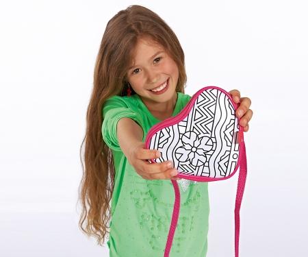 simba Color Me Mine Colorchange Heart Bag