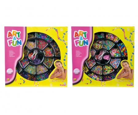 simba Art&Fun Perlenschmuckset, 2-sort.