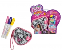 simba Color Me Mine Diamond Party Heart Purse