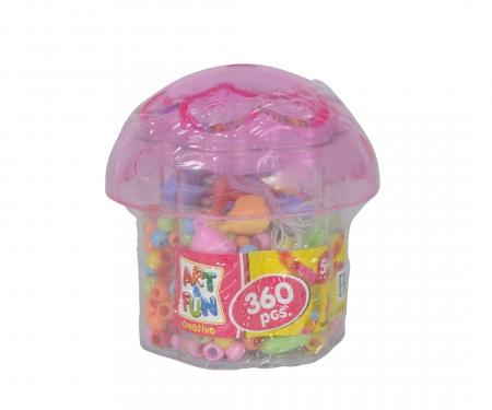 simba A&F Beadset in Mushroom Bucket, 3-ass.