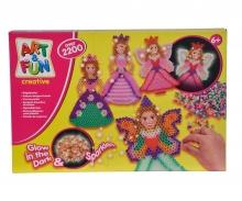 simba Art&Fun Bügelperlen Fee & Prinzessin