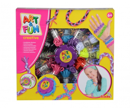 simba Art&Fun Bracelet braiding