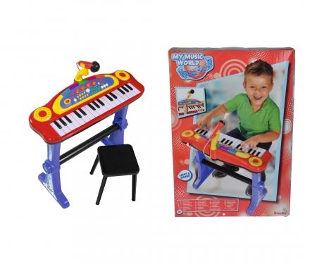simba My Music World Standing Keyboard