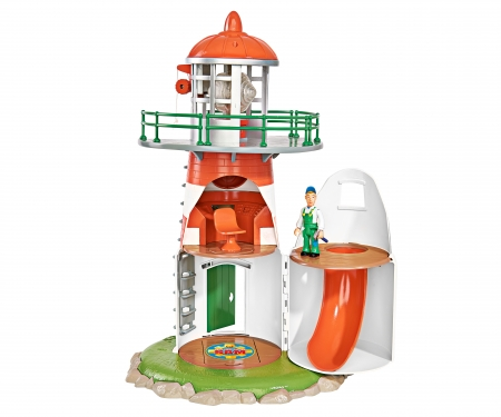 simba Sam Lighthouse with Figurine