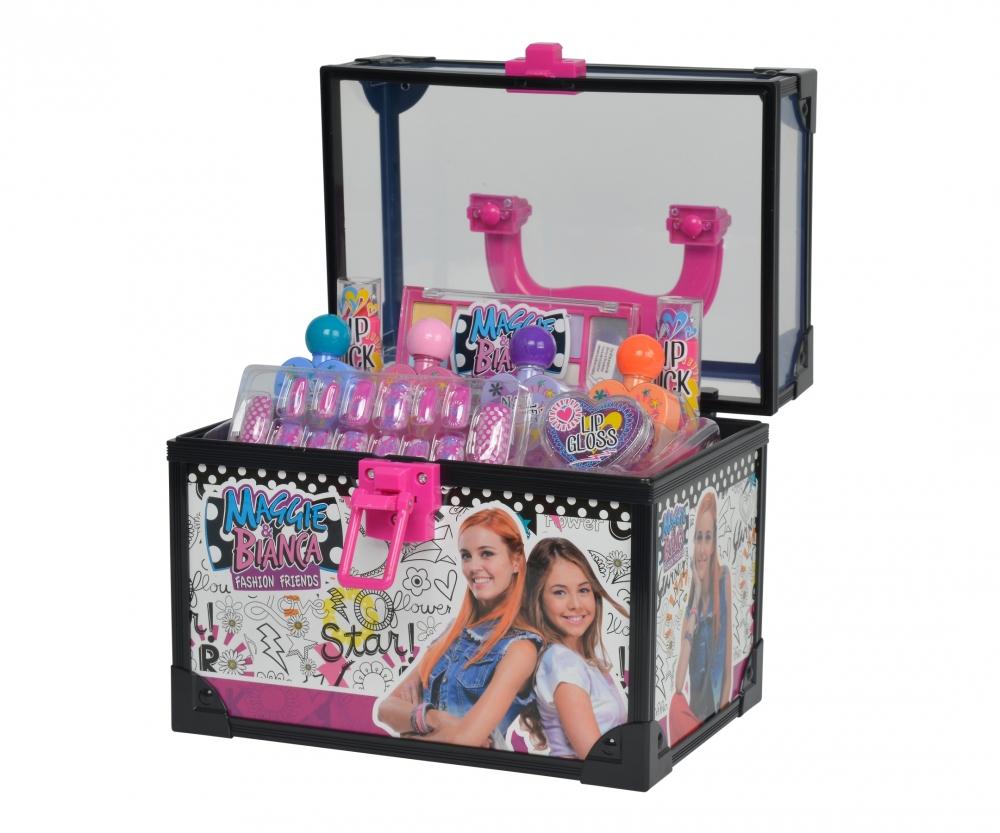 Maggie&Bianca Beauty Case. Inclusi 2 lip stick, 2 ombretti ...