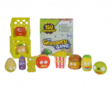 simba The Grossery Gang Collectibles, 10-Pack, Series 1