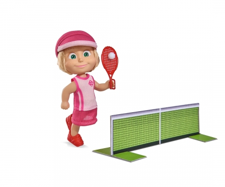 simba Masha Tennis Set