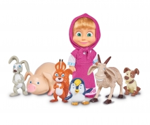 simba Masha and her Animal Friends