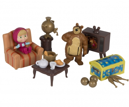 "simba Masha Playset ""Bear´s House"""