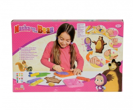 simba Masha Dough Set