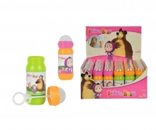 simba Masha Bubble Bottle 60ml, 2-ass.