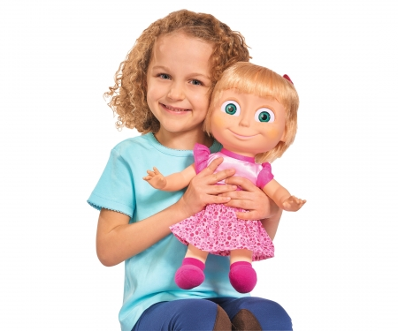 simba Masha Tickle Me Functional Doll