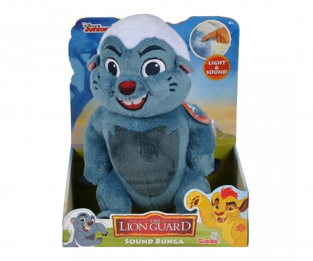simba Lion Guard Action Plush Bunga