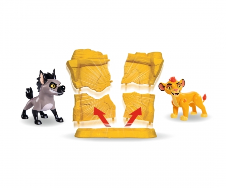 simba Lion Guard Aggressor Set, 5-ass.