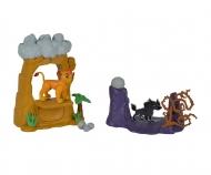 simba The Lion Guard Lion Guard Pride Rock Playset inclusi due personaggi