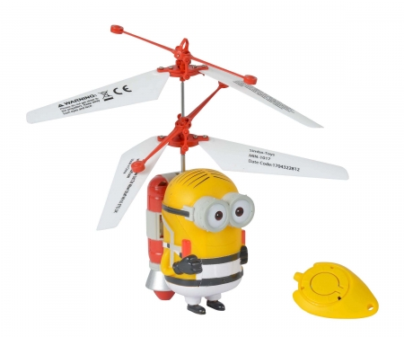 simba DM3 Flying Minion Dave in Prison Outfit