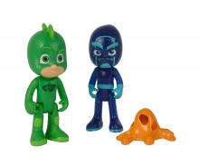 simba PJ Masks Figuren Set Gecko+Ninja