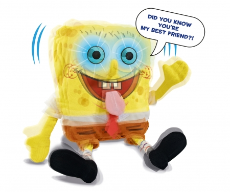 simba Sponge Bob Featureplush