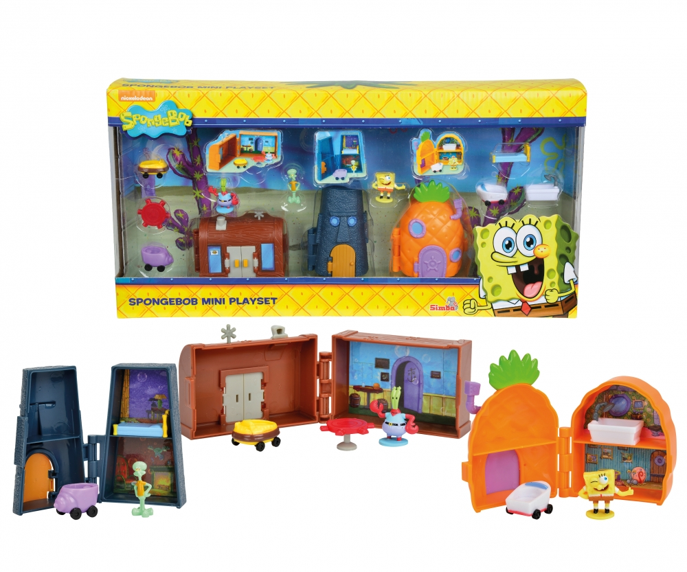 sponge bob mini bottom playset spongebob brands www