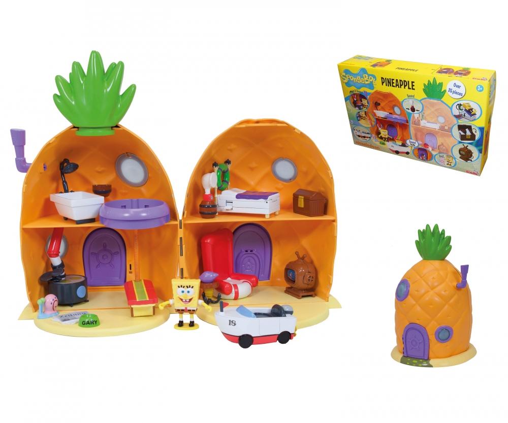 sponge bob pineapple playset spongebob brands www simbatoys de