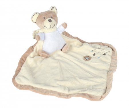 simba Nicotoy Baby 3D-Doudou, Cuddles