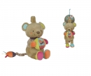 simba Nicotoy Baby Musical Clock Bear Gary