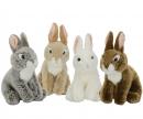 simba Nicotoy Plush Rabbit sitting, 4-ass.