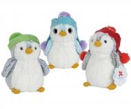 simba Nicotoy Plüsch Pinguin mit Mütze