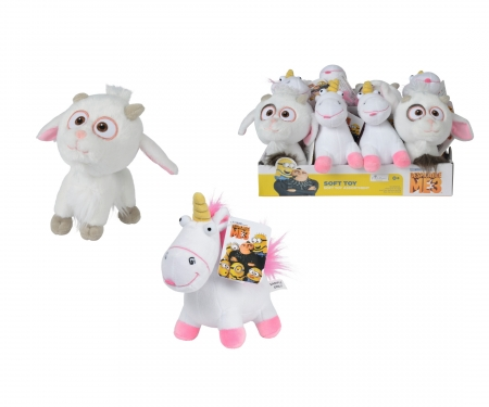 simba Minions Unicorn Fluffy and UniGoat