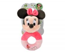 simba Disney Minnie Pretty Pink Rattle
