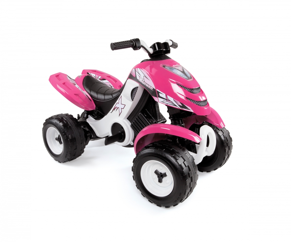 quad x power pink quads wheels toys products. Black Bedroom Furniture Sets. Home Design Ideas