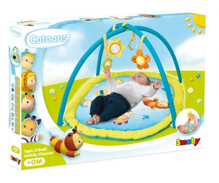 COTOONS ACTIVITY PLAYMAT ASST